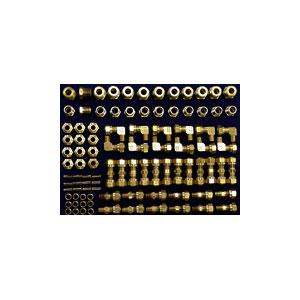 1/4 inch Brass DOT Air Brake Tubing Compression Kit