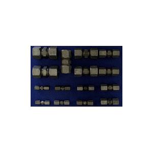 Fractional Flareless Steel Tube Compression Union Kit
